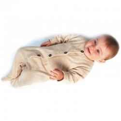 baby jumpsuit met voetjes bio katoen