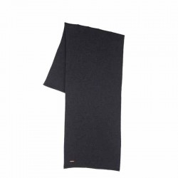 Zwarte sjaal merino wol
