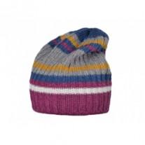 Wintermuts kind/dames in combi van bio wol, zijde en katoen