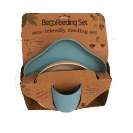 beco feeding set blauw