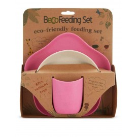 Beco feeding set roze