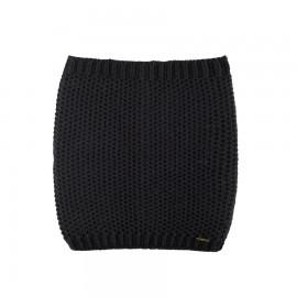 Colsjaal merino wol zwart