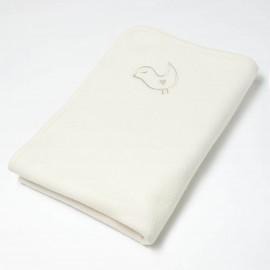 Ecru baby deken fleece