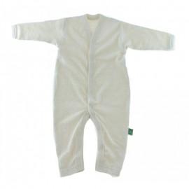 Jumpsuit pyjama zachte biologische katoen (badstof)