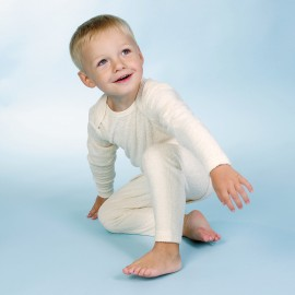 Kinderpyjama pure biologische badstof