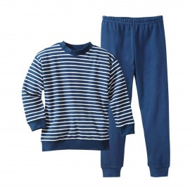 Living crafts pyjama navy striped