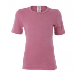 Living Crafts shirt wol zijde roze