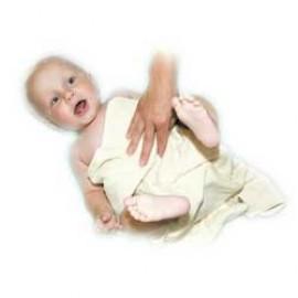 Babyhanddoek bio katoen 40x70cm
