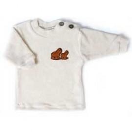Bio baby shirtje bij bambini slaapzak