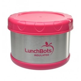 lunchbots roze voedselcontainer