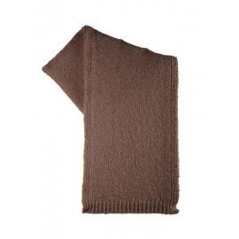Puur sjaal bio wol en alpaca bruin