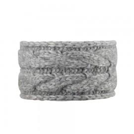 hoofdband merino wol grijs